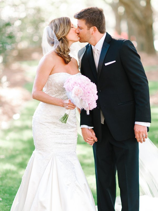 Pretty in Pink: Taylor & Peter in Georgetown, SC