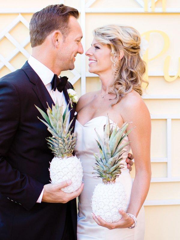 Tropical Delight: Brandi & Tim in Santa Fe, CA