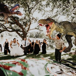 Jurassic Park Themed Wedding