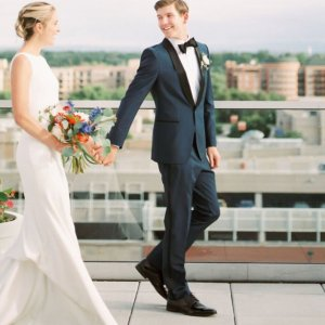 Denver wedding couple