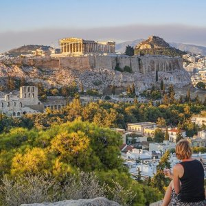 greece honeymoon ideas - athens