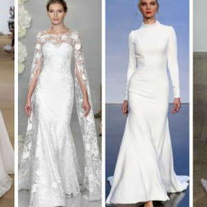 Long Sleeve Gowns From NYBFW