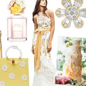 Daisy inspired wedding ideas