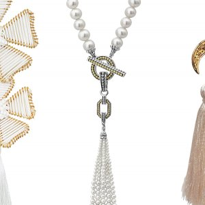Fringe wedding jewelry