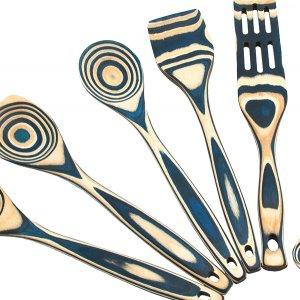 island bamboo utensils