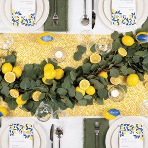 lemon wedding decorations
