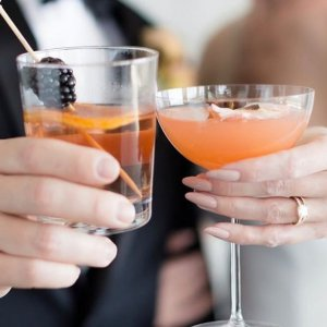 bride groom signature cocktail
