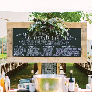 50 ideas for a vintage inspired wedding bridalguide wedding bar junglespirit Images