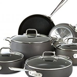 Amazon Registry Gift of the Week - All-Clad 10-piece nonstick cookware set