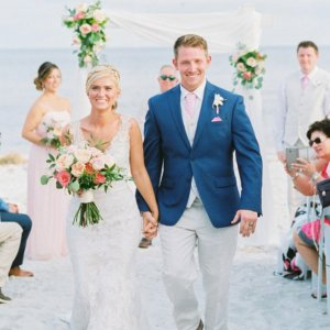 Sundial Beach Resort & Spa real wedding couple