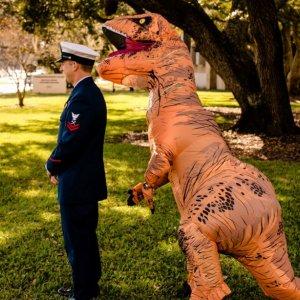 T-Rex Wedding First Look
