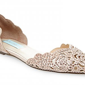 Blue by Betsey Johnson wedding shoes for the modern bride