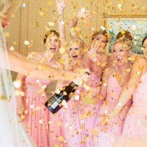 bridesmaid confetti