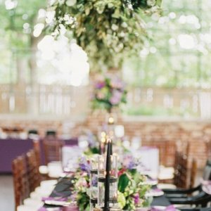Overheard decor wedding reception