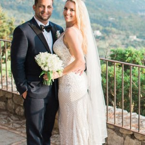real wedding in capri italy