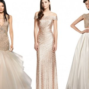 Gold Gowns