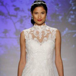50 new wedding dresses with a sweetheart neckline bridalguide 65 stunning high neck wedding gowns junglespirit Gallery