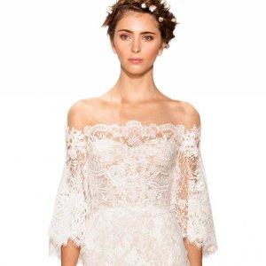 Romantic Off The Shoulder Wedding Dresses.