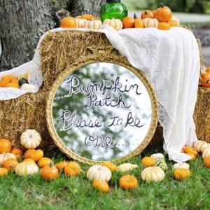 pumpkin wedding decorations