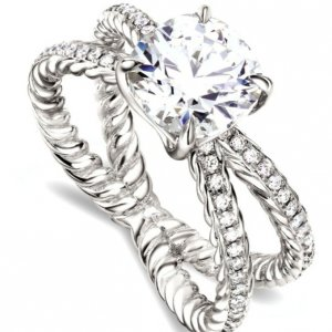 Trend Twisted Engagement Rings