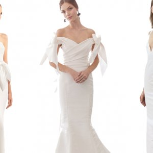 urban chic wedding gowns
