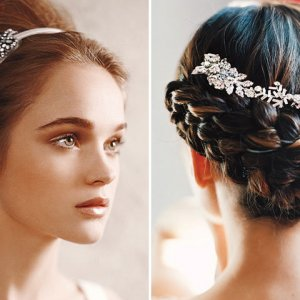Outstanding The Prettiest Half Up Half Down Hairstyles Bridalguide Short Hairstyles Gunalazisus