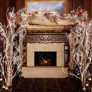50 seasonal winter wedding dcor ideas - Christmas Wedding Decorations Ideas