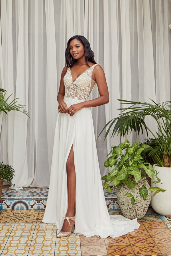 Beloved by Casablanca Bridal  Maribel, Style BL355