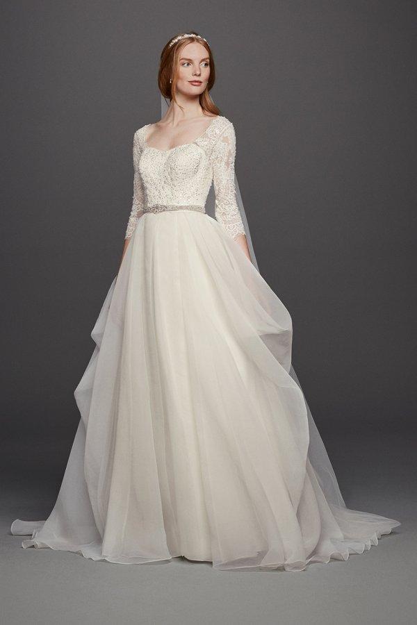 Pics of beautiful white wedding dresses