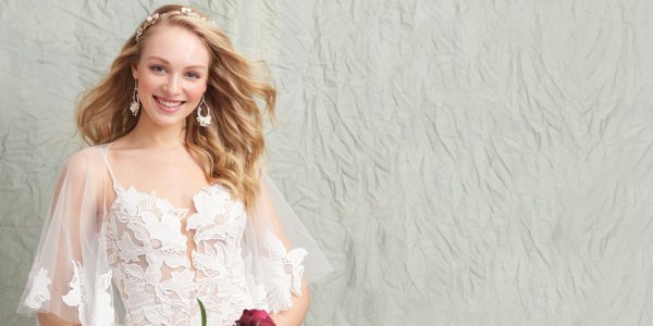 Madi Lane wedding gown