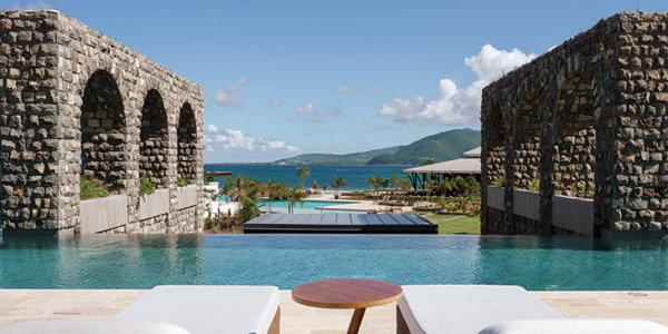 pool at park hyatt st kitts rampart