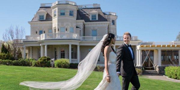 the chanlers at cliff walk rhode island wedding