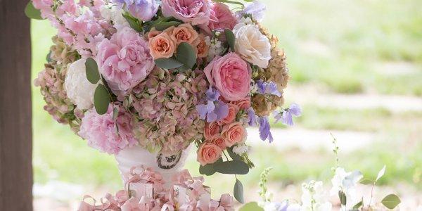 southern charm wedding reception
