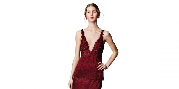 wine bridesmaid dresses