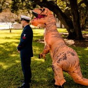 T-Rex Wedding First Look