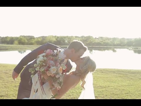 Katy + Bronson at Thistle Springs Ranch, Cleburne, TX